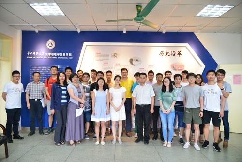 关于华中科技大学叙光电情忆光电故事 光电信息学院毕业生代表座谈
