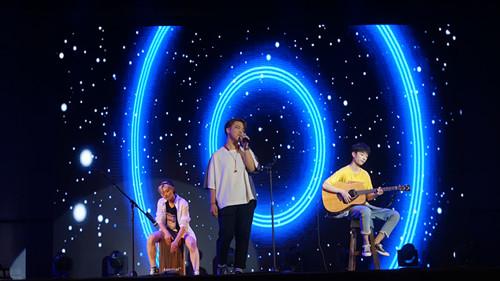 中南财经政法大学外国语学院校际外语歌曲大赛决赛燃情上演
